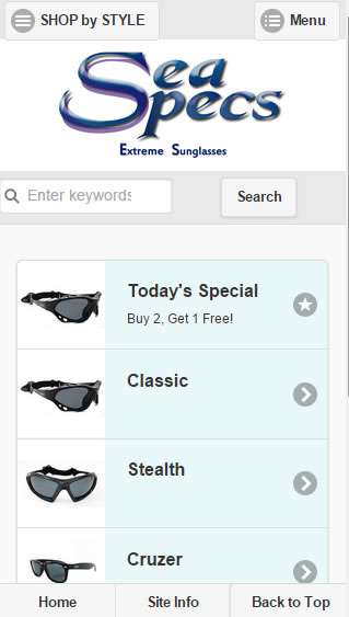Mobile Template for Zen Cart Stores 1.5.1, 2, 3, 4 - $75.00 ...